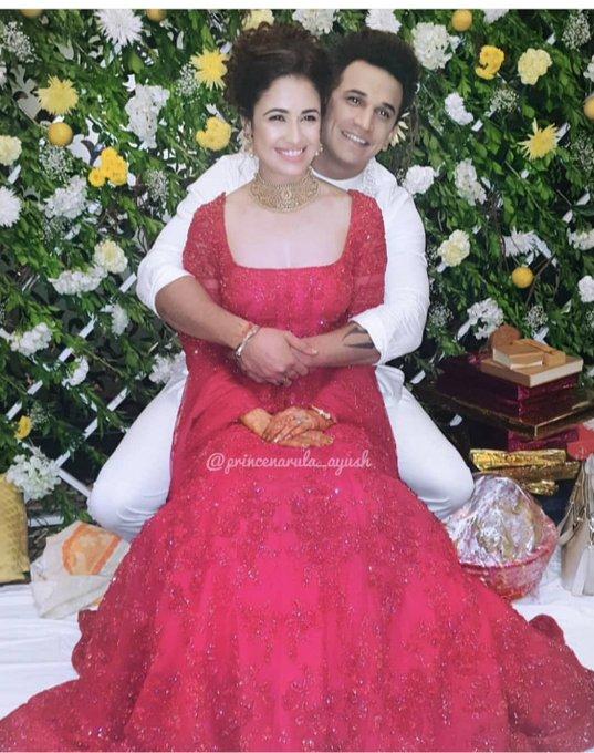 Yuvika Chaudhary Prince Narula Engaged
