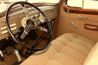 1937 Cadillac Lasalle Opera Coupe Dashboard