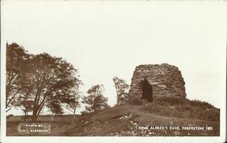 King Aelfrid of Northumbria Memorial postcard via www.fabulousfollies.net