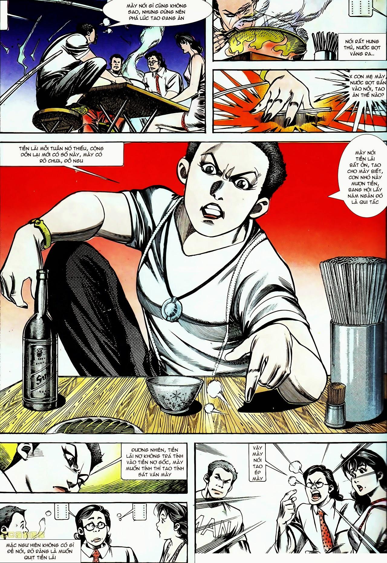 Người Trong Giang Hồ chapter 130: cô ta đến từ giang hồ trang 3