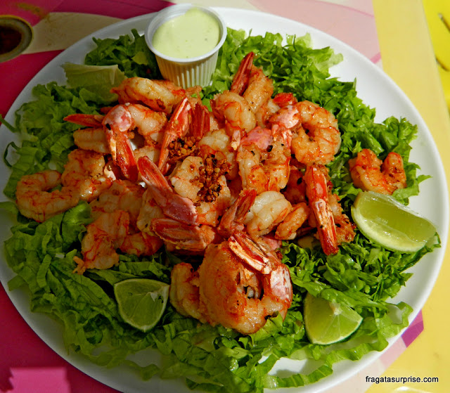 Comer em Florianópolis - camarões