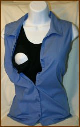 Image: Ecoscapes Cotton Maternity Nursing Undershirts for Breastfeeding Moms