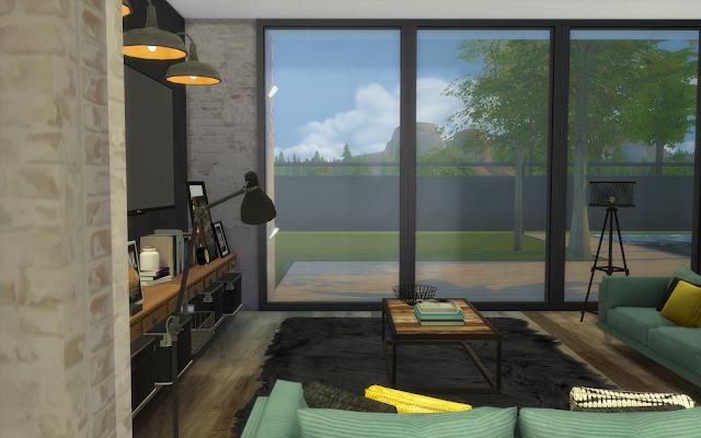 maison loft sims 4