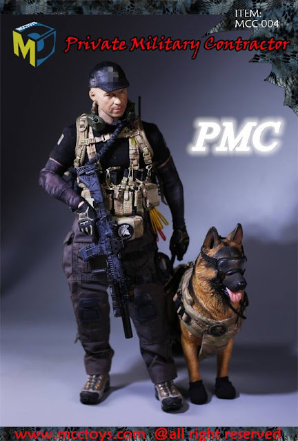 osw.zone Magic Cube Toys 1 / 6. Scale PMC (Private Military Contractor) 12 inch figures set (with dog)