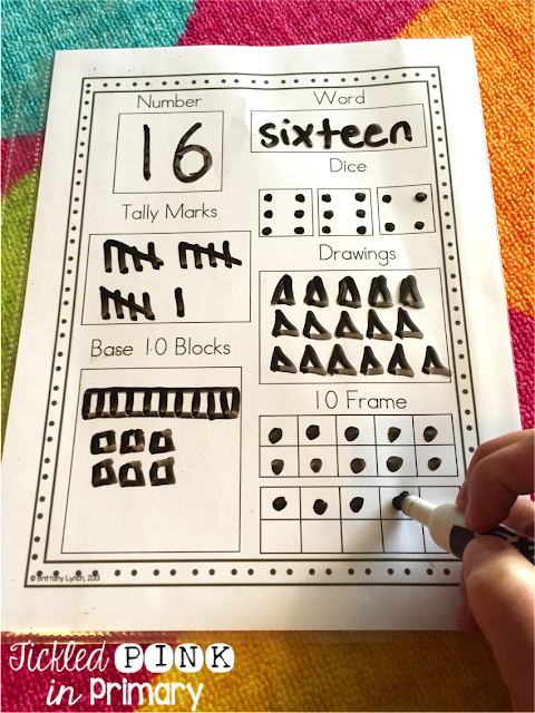 Number Sense Worksheet