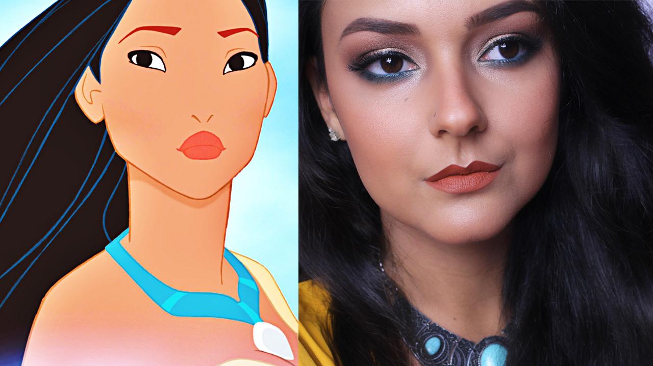 Coisas de jssica maquiagem pocahontas inspirao pocahontas maquiagem pocahontas inspirao pocahontas makeup tutorial baditri Images