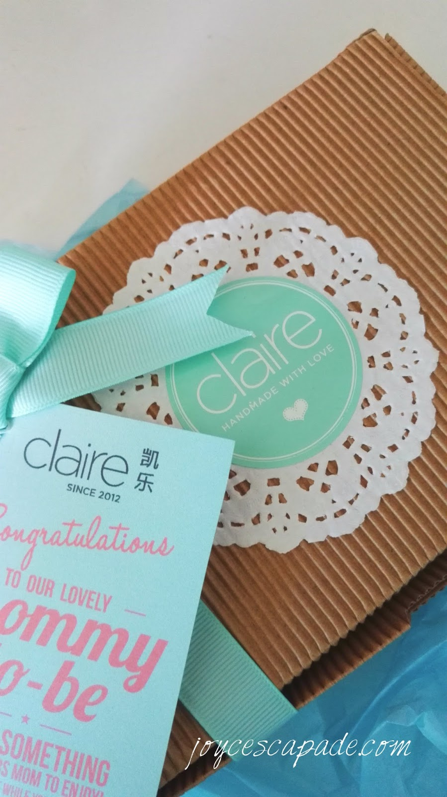pampering done right with claire organics