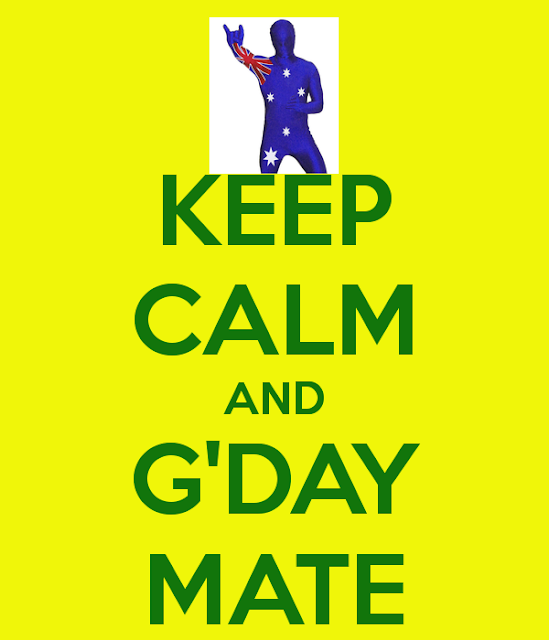 Australia - G'Day Mate