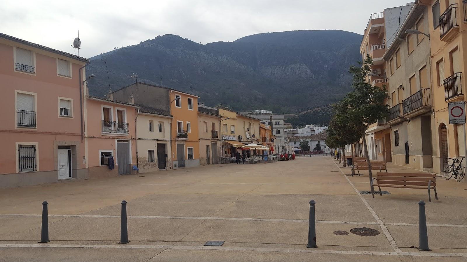Carrer del Convent, Simat del Valldigna, La Safor, Valencia