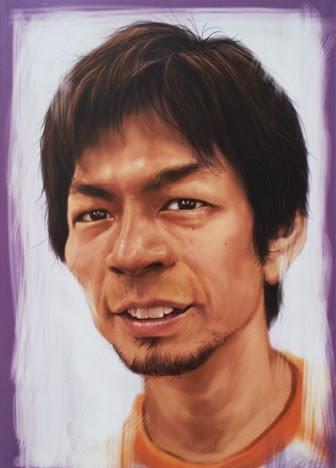 ITSUKANO MIJOGUCHI  IMD-mijoguchi みじょぐち 似顔絵