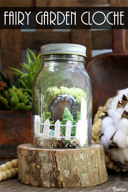 fairy garden in a jar
