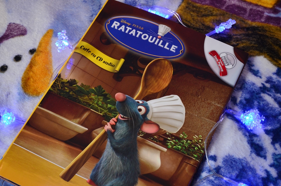 carte cu cd disney ratatouille editura litera