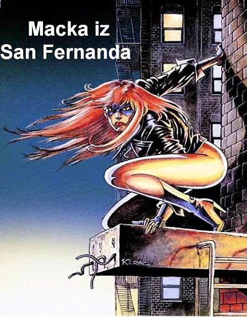 Macka iz San Fernanda - Cat Claw