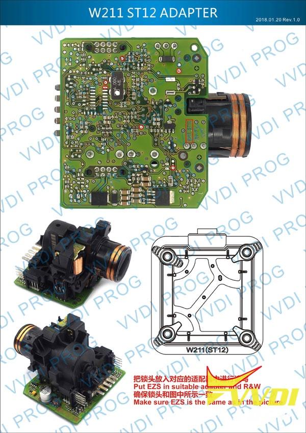 W211 ST12 Adapter