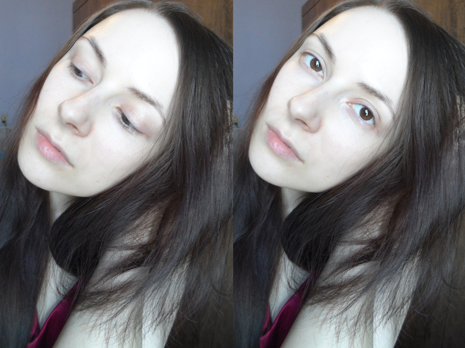 girl without makeup, clean skin tips