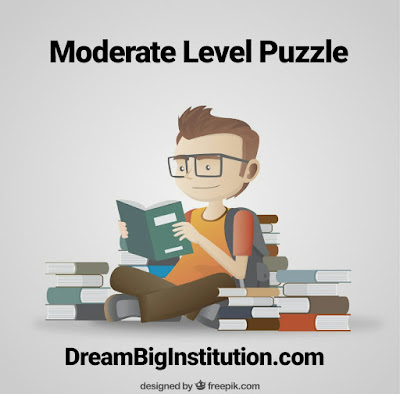 Reasoning Puzzle Moderate Level