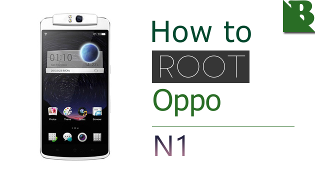 How To Root Oppo N1  And Install TWRP Recovery