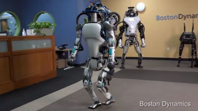 Boston Dynamics already has futuristic robots capable of superhuman abilities?