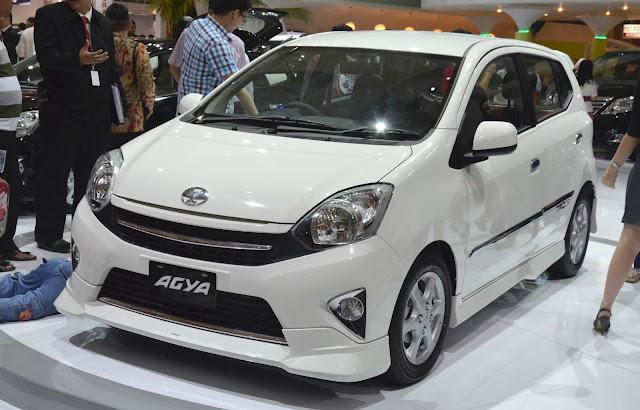Desain Eksterior Toyota Agya