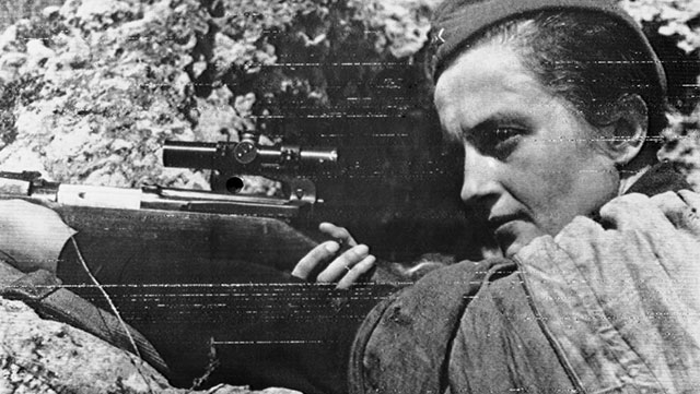 Lyudmila Pavlichenko Sniper Wanita