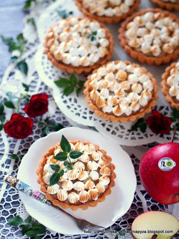 jableczniki, male szarlotki, ciastka z jablkami, jablka, jablka grojeckie, pyszne ciasteczko, wspanialy deser