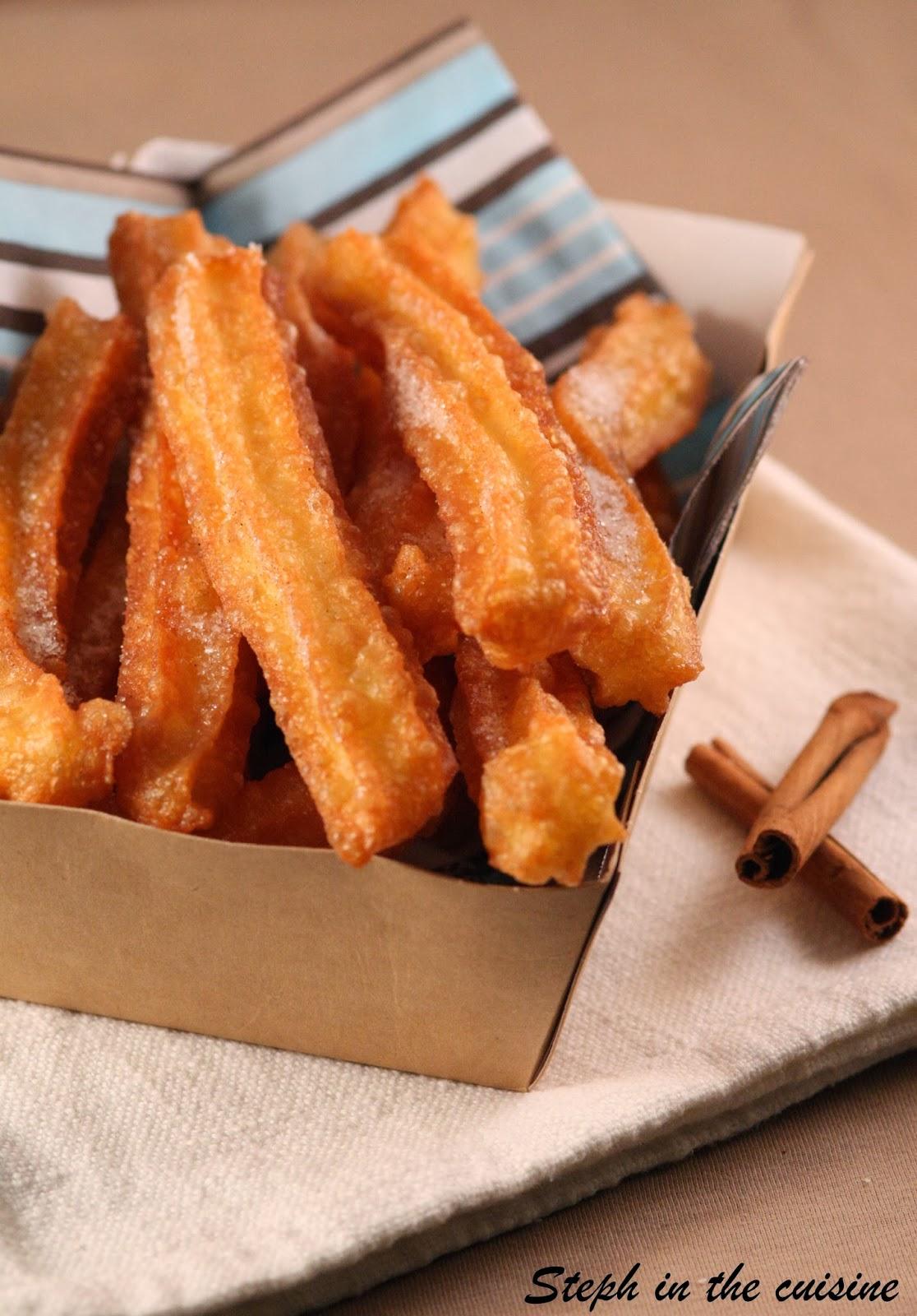 Recette Churros De Fete Foraine steph in the cuisine: churros à la cannelle