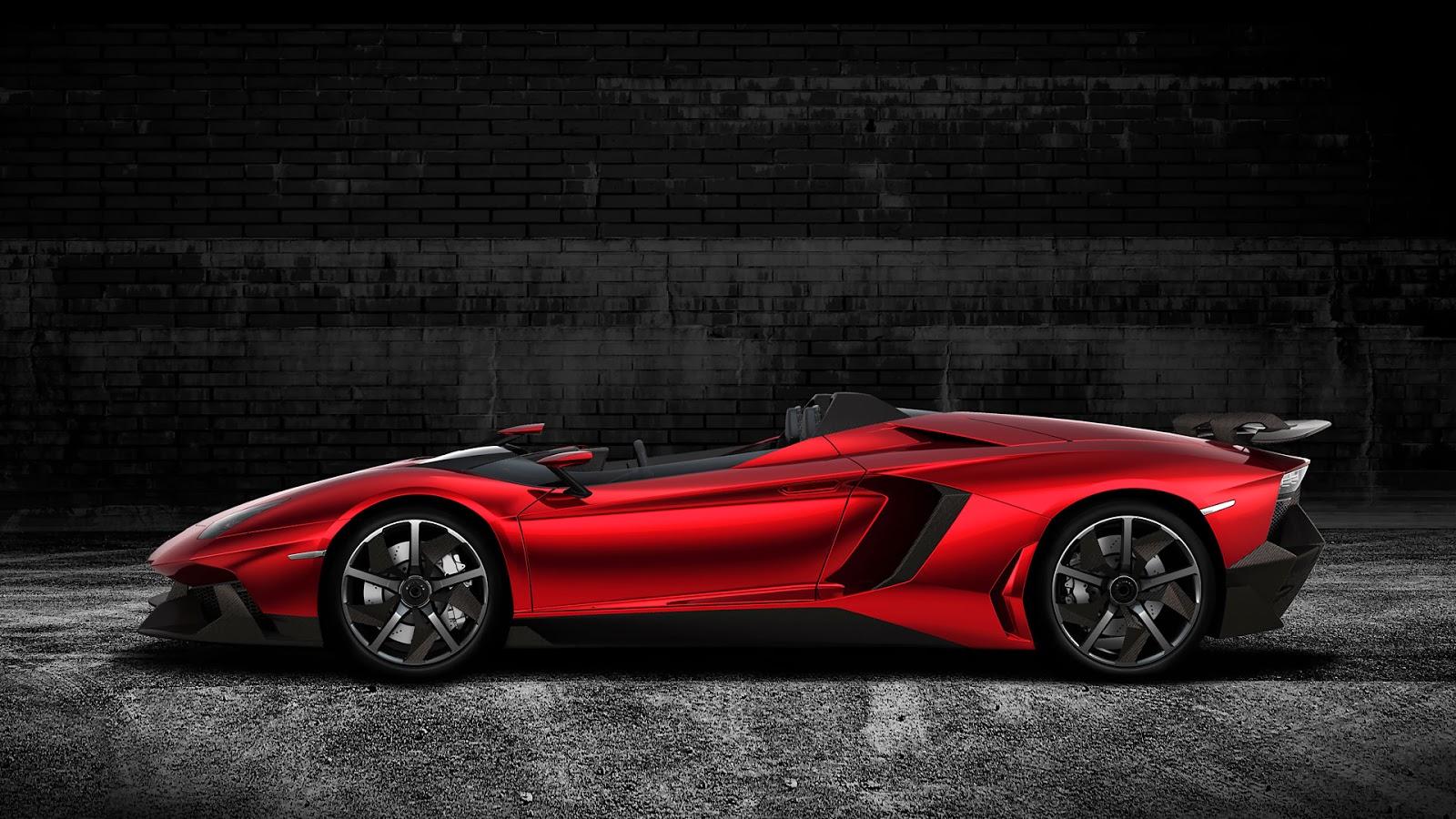 New Lamborghini Aventador J total convertible sportcar ...