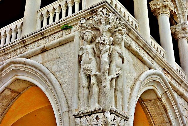 Kdo utrhl to jablko ze stromu?, Benátky, Palazzo Ducale, Dóžecí palác, muzea, historie, Bible,