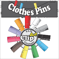 Clothes Pins Clip Art