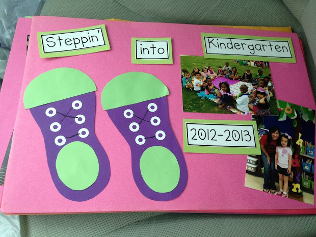 The End of Year Kindergarten Memory Book Ideas