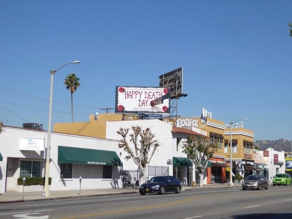 Happy Death Day film billboard