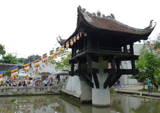 Pagoda del Pilar Único o de un solo Pilar.