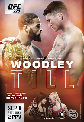 UFC 228 Woodley Vs Till 2018 Custom HD Latino