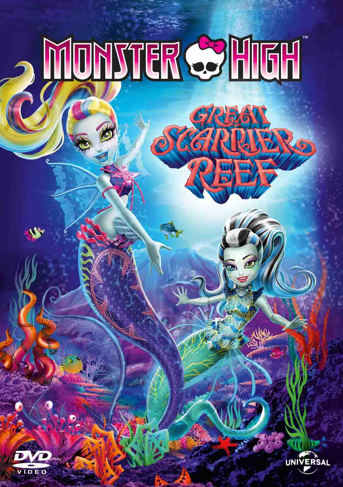 Monster High – A Assustadora Barreira de Coral – HD 720p