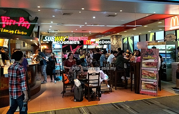 Restaurants Cafes Don Mueang Airport