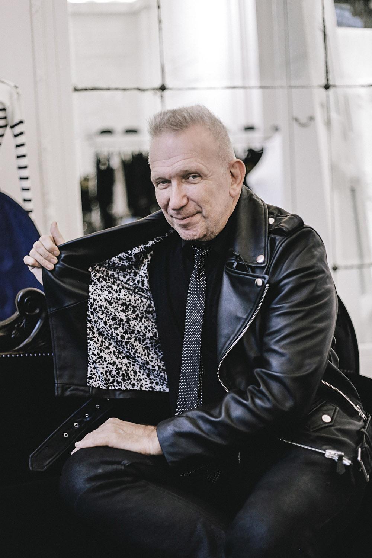 Mr Jean Paul Gautlier in the studio - photo supplied by Target.