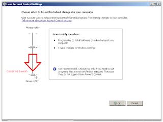 UAC di Windows 7