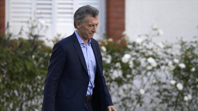 Encuesta: Casi 60% de los argentinos desaprueba a Macri