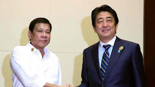 As Duterte embraces China, Japan's Abe set to take off warm welcome
