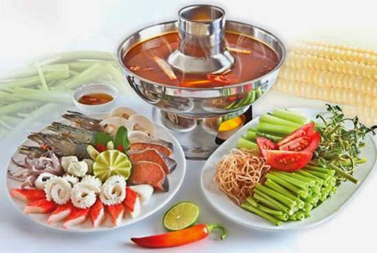 Cách làm món Lẩu Thái hải sản ngon