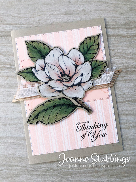 Jo's Stamping Spot - ESAD 2019-2020 Annual Catalogue Sneak Peek using Good Morning Magnolia Bundle and Magnolia Lane DSP by Stampin' Up!