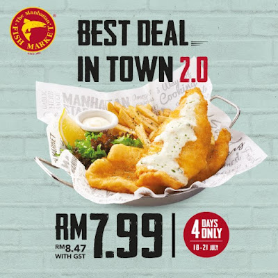 The Manhattan FISH MARKET Best Deal in Town 2.0