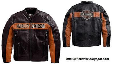 Gambar Jaket Kulit Harley Davidson Original
