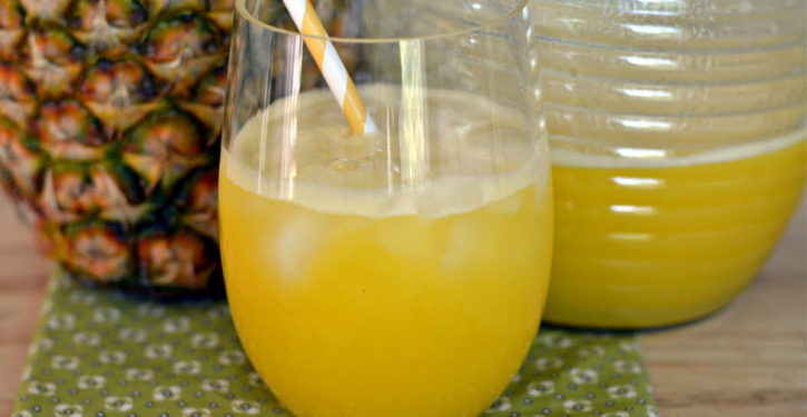 This Pineapple Juice Is Effective Against Coughs, Reduces Pain, Regulates High Blood Pressure And Fights Many Other Diseases