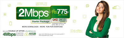 PTCL TWO 2 Mbps Offer