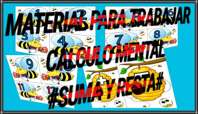 CÁLCULO MENTAL - SUMA Y RESTA