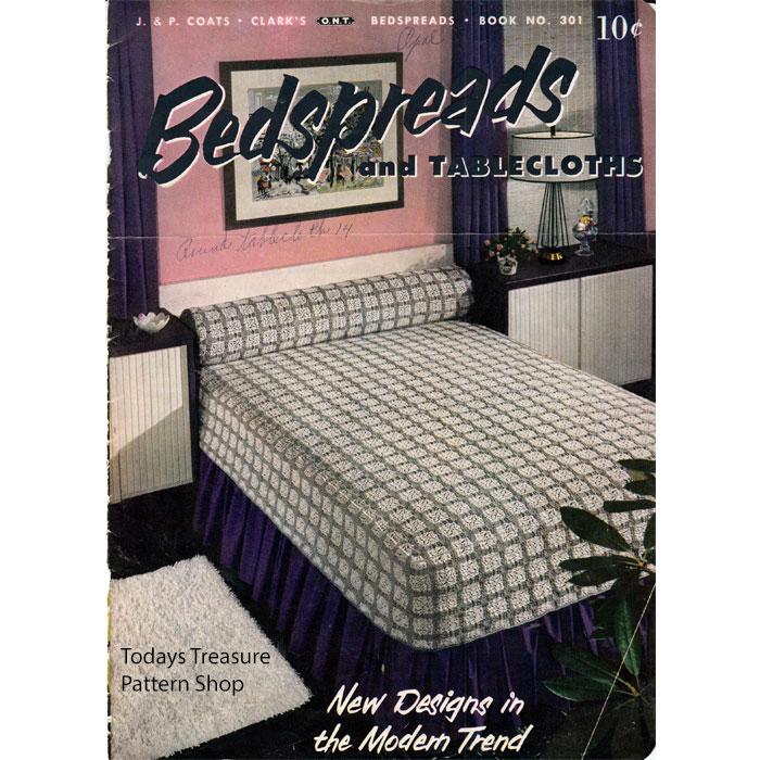 Vintage Knit Crochet Shop Talk: Bedspreads and Tablecloths Crochet ...
