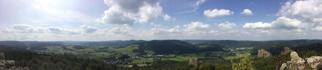 Panorama vom Felsstein