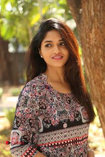 Actress Sunaina Latest Stills in Floral Dress at Pelliki Mundu Prema Katha Trailer Launch  0024.JPG