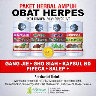 obat herpes denature